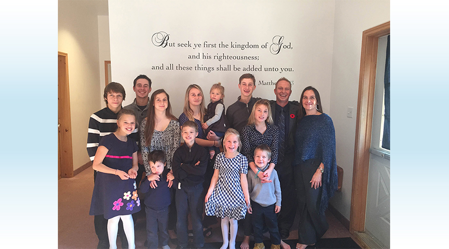 John & Julia Trotter and family