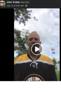 facebook live John Trotter
