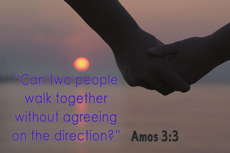 Can two people walk together without agreeing on the direction