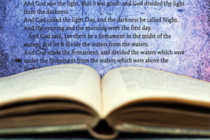 God's Word with text from Genesis